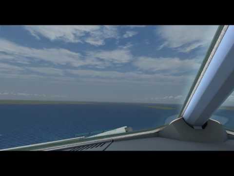 Cockpit Camera Approach Copenhagen