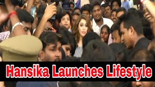 Hansika Launches Lifestyle new astore @ VR Chennai,