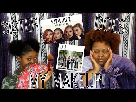 Little Mix Reactions + Sister Does My Makeup