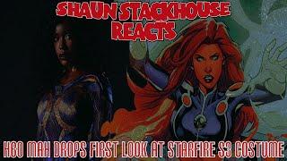 HBO MAX Drrops Starfire's New Costume Tiitans S3