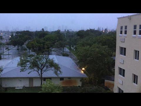 Huracán irma 7 de la mañana Miami