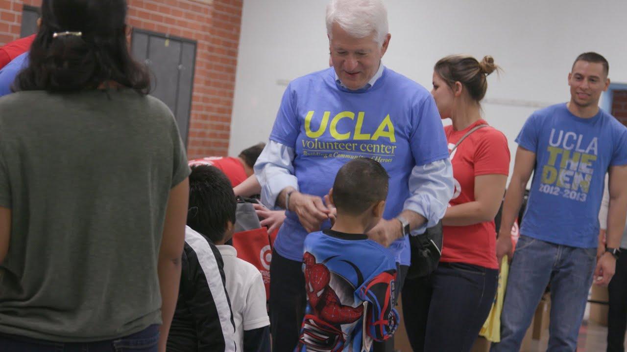 UCLA Volunteer Day across Los Angeles