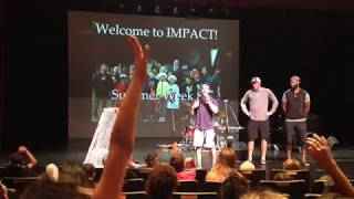 Stu Bickel and Jordan Samuels-Thomas, Professional Hockey Players at Impact Chapel