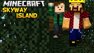 ДОМ НА ДЕРЕВЕ - Minecraft Skyway Island Survival 06