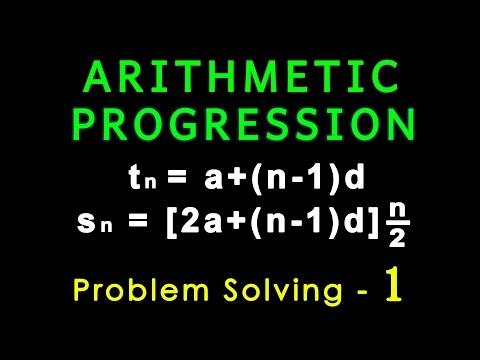 Arithmetic Progression   Problem Solving   Algebra   Letstute