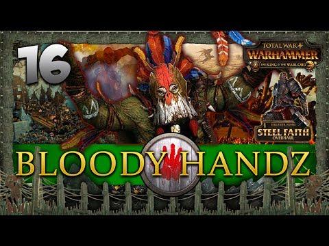 THE FALL OF KARAZ-A-KARAK! Total War: Warhammer - Bloody Handz - Steel Faith Mod Campaign #16