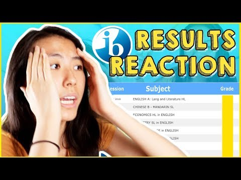 😱IB EXAM RESULTS REACTION 2018!! [May 2018 Session] | Katie Tracy