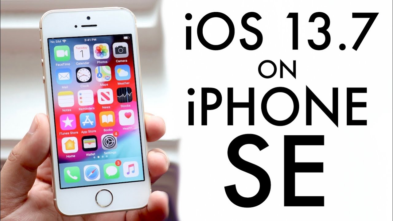 iOS 1.1 On iPhone SE! (Review)