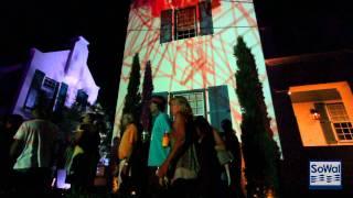 Digital Graffiti at Alys Beach Florida 2011