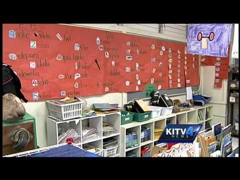 School assessment tests taken in Hawaiian