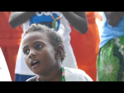 Solomon Islands-village Visit