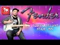 FENDER SQUIER DELUXE STRAT MN - голубая электрогитара стратокастер