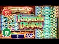 Forbidden Dragon slot machine, 95% payback, 2 sessions