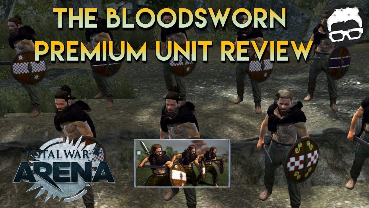 Total War Arena Blood Sworn Premium Unit Review