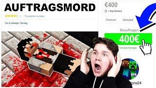 MORD in MINECRAFT für 400 EURO 💀
