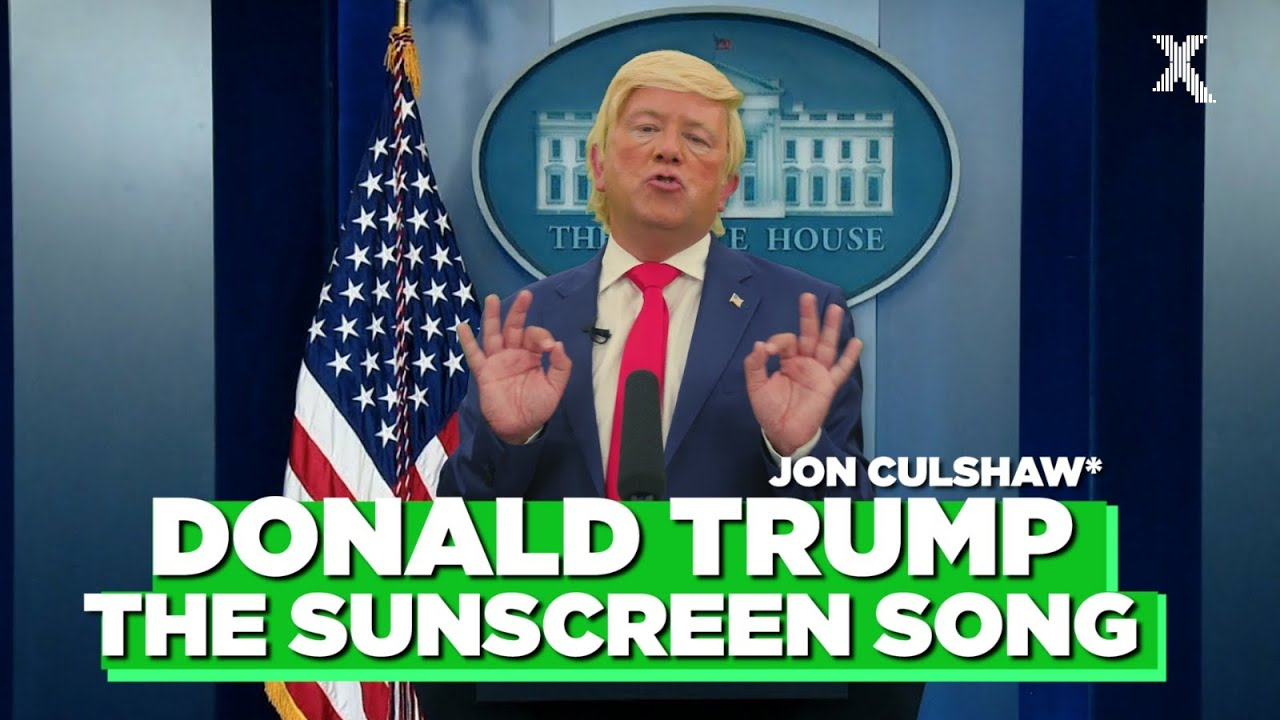 Jon Culshaw Parodies The Sunscreen Song As Donald Trump | The Chris Moyles Show | Radio X