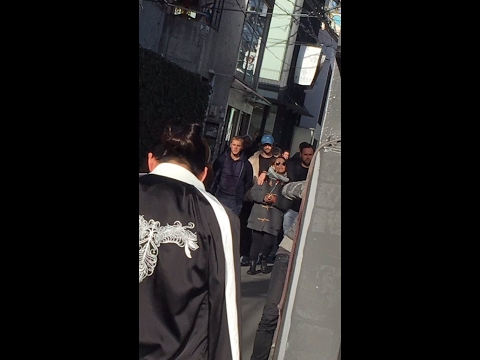 Justin Bieber - The Purpose Tour Crew Has Landed - Tokyo, Japan - Video/Photo - February 2, 2017