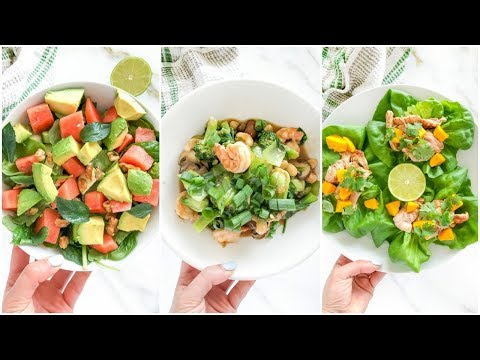3 Healthy Meals You NEED TO TRY | easy paleo recipes