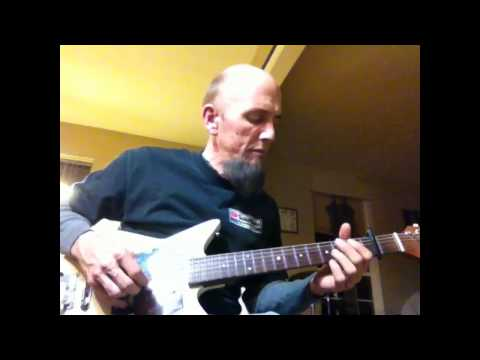 where you go - ambient relax chill - open d tuning - simple melody line, beginner guitar.