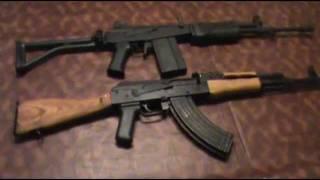 IMI Galil vs. WASR 10 AK-47