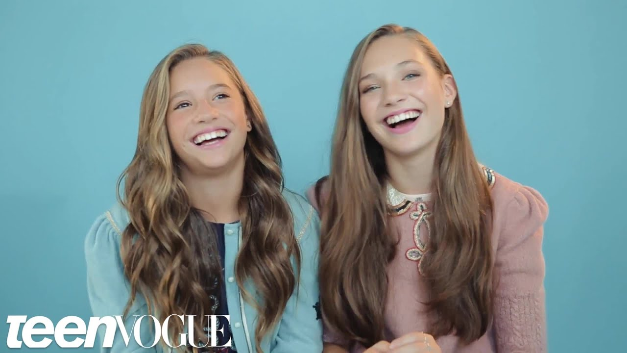 Maddie and Mackenzie Ziegler Share the Sweetest Sister ...