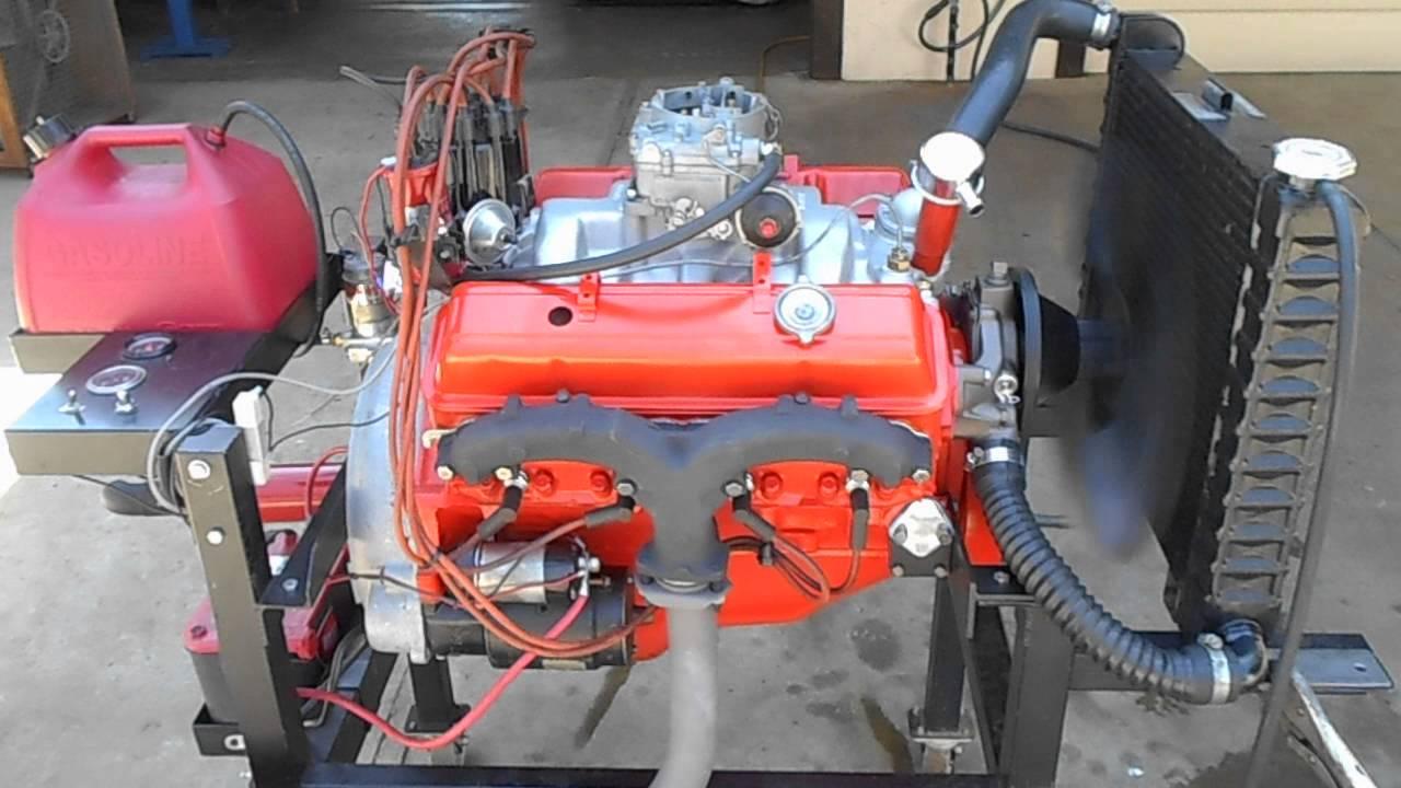 1962 Chevy Corvette 327 340hp 097 Duntov Camshaft Engine Running ...