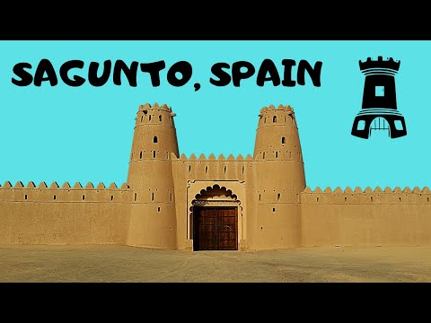 SPAIN: The stunning Citadel (or, Fort) 🕍 of Sagunto, scenic views!