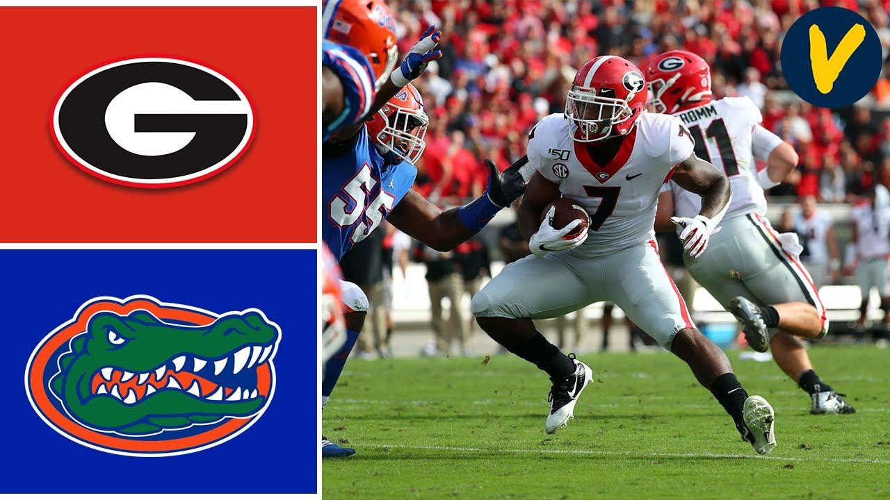#8 Georgia vs #6 Florida Highlights | Week 10 | College Football 2019