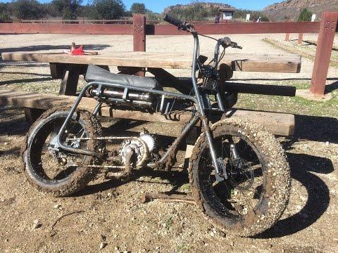 Lithium Cycles Super 73 Ride Report #2 // Bigger cog + muddy trail