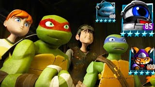 Teenage Mutant Ninja Turtles: Legends - TMNT 2012 VS FOOT CLAN 1987