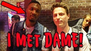 Meeting damian lillard and other nba stars irl!