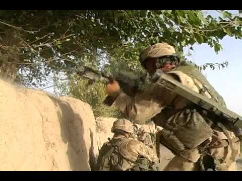 Canadian Army Firefight In Afghanistan
