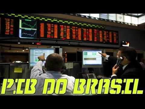 O PIB do Brasil é de 3,1 Trilhões de Dólares ?