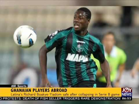 Ghanaian Players Abroad - AM Sports on Joy News (31-10-16)