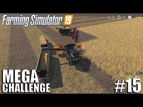 MEGA Equipment Challenge 2.0   Timelapse #15   Nebraska Map   FS19   Farming Simulator 19