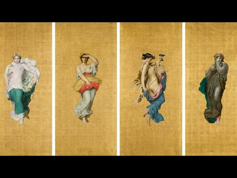 William Bouguereau's Luscious Golden Muses