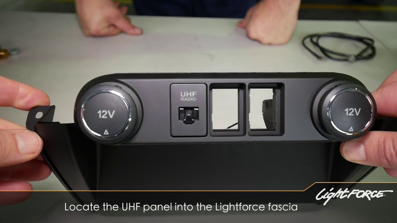 Lightforce Switch Fascia To Suit Ford Ranger Everest Lightforce