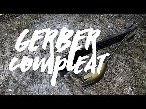 Gerber ComplEAT Spoon, Fork, Spatula, Tongs