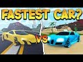 *NERO VS FURY* RACING THE TWO FASTEST SUPERCARS (ROBLOX MAD CITY)