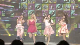 Sistar - Shady Girl (씨스타 - 가식걸) @ SBS Inkigayo 인기가요 100926