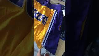 Los Angeles Lakers Shorts ( NBA ) lebron shorts just don Lakers short