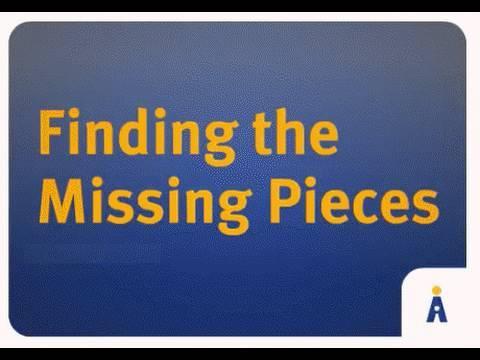 Image result for Finding The Missing pieces Picture