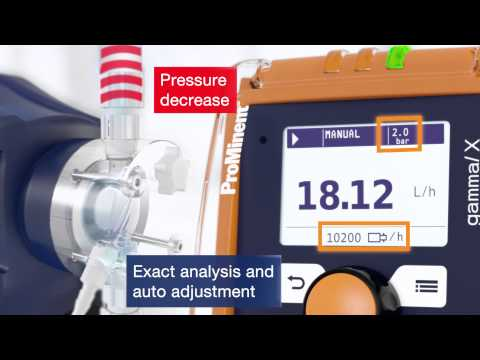Metering Pump gamma/ X: Innovative Control Technology