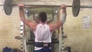 90kg shoulder press