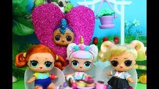 Куклы ЛОЛ. Теперь подружки, или нет? Мультик про Куклы  LOL SURPRISE #Hairgoals  MC Family