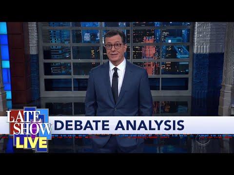 Stephen Colbert Breaks Down The 5th Democratic Presidential Debate