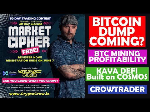 Bitcoin To Dump? Market Cipher Free! Trading Contest!! KAVA DEFI And More!