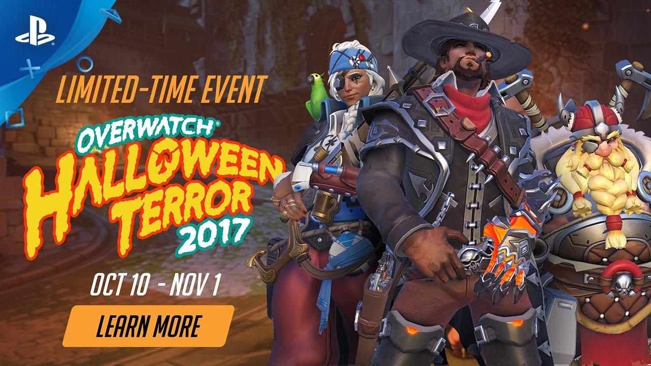Overwatch Seasonal Event - Halloween Terror 2017 | PS4 - YouTube