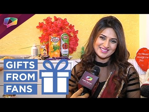 Divyanka Tripathi Dahiya receives birthday gifts from fans