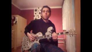 Probot - Ice Cold Man (ft. Lee Dorrian) - guitar cover